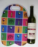 La funda promocional modificada para requisitos particulares impresa del sostenedor de botella del neopreno para el vino puede cerveza