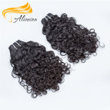 Человеческие волосы Монгол девственницы волны воды 100 Alimina модные