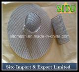 Filtre perforé de cartouche de maille de l'acier inoxydable 304