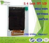 2.4 panneau de TFT LCD de pouce 240*320 MCU 8/16bit 37pin
