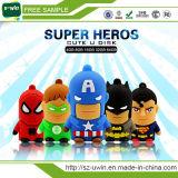 2017の創造的なスーパーヒーローシリーズ高品質USBのペン駆動機構