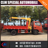 Lastwagen-Kran-LKW des LKW-3ton artikulierte Hochkonjunktur eingehangenen LKW-Kran