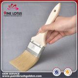 Qualität weißes PBT u. Haustier-Material mit hölzernem Griff-Lack-umweltsmäßigpinsel