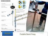 휴대용 배럴 펌프 60L/Min 배럴 펌프 드럼 펌프 Ss304 배럴 펌프 관
