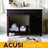 Simple estilo moderno de roble de madera maciza cuarto de baño de tocador muebles de baño gabinete (ACS1-W34)