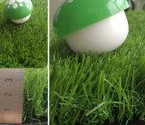 Grama de pastagem de grama PE para gramado sintético de paisagismo