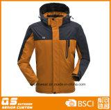 남자의 형식 방풍 스키 재킷