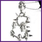 De in het groot Tegenhanger van de Voorraad Halsband van de Schedel van de Juwelen van de Manier van het Roestvrij staal van 316 L de Gotische voor Mensen