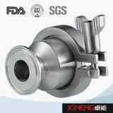 Acero inoxidable Tri Blocado higiénico válvula de retención (JN-NRV1002)