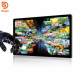 HD 1080 com 32 polegadas, leitor de sinalética digital montada na parede com Sensor de movimento IV Publicidade da Tela de Toque Multi Media Totem