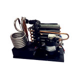 작은 물 냉장계를 위한 DC 압축기를 가진 조밀한 상업적인 액체 공기 냉각장치
