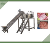 La carne del hueso corte de la máquina, la carne del hueso de sierras mecánicas, carne congelada Bone máquina de la sierra