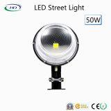 LED 가로등 50W 정원 램프 전구 100-277VAC IP65 고품질