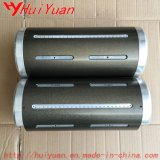 Portabrocas de neumático de aire para máquinas de embalaje con material de aluminio
