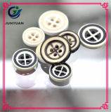 Имитационная деревянная кнопка шинели рубашки смолаы кнопки
