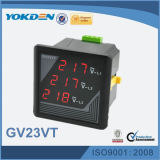 Gv23vt 3 Phase LED-Bildschirmanzeige-Digital-Spannungs-Messinstrument