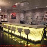 販売LED商業棒カウンターデザインのための高い光沢のあるアクリルの照らされた棒