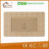 1 interruptor de moda de Bell de puerta de la cuadrilla