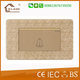 1 interruptor elegante de Bell de porta do grupo