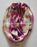 Migliore sciarpa stampata viscosa di vendita di infinità (HWBV02)