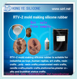 수동 형 액체 RTV-2 실리콘 Rubebr