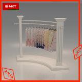Suporte de monitor de madeira roupas vitrine de exibição