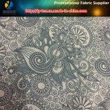 Tessuto dello Spandex del poliestere con stampa del loto per la camicia degli uomini (YH2133)