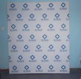 Drapeau en aluminium d'étalage de bâti de tissu facile de modification (SS-FB-7)