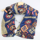 De godsdienstige Sjaal van de Stijl, Sjaal van het Af:drukken van de Manier van de Sjaal van de Polyester van 100% de Bijkomende, Dwars