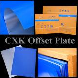 Blauwe CTP van de Deklaag Drukplaat voor de Koploper van Kodak