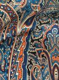 Ткани цветастого полиэфира печатание шифоновые для платьев
