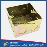 Коробка изготовленный на заказ металла электрическая с цинком цвета