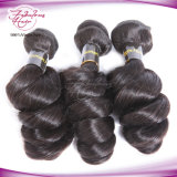中国の最も安いバージンの毛の緩い波のペルーのRemyの波状毛