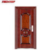 TPS-079 последней наружные деревянные двери снимков, Современный гриль двери из кованого железа главные ворота двери дизайн