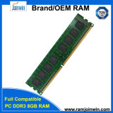 Non RAM 1600MHz настольный компьютер 240pin 8GB DDR3 Ecc Unbuffered