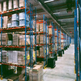 Cremagliera e mensole selettive resistenti del pallet per memoria 1, 000-4, 000 chilogrammi del magazzino
