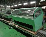 Réfrigérateur/ventilateur commerciaux de Spumoni refroidissant le coffret d'étalage italien de crême glacée (QV-BB-24)