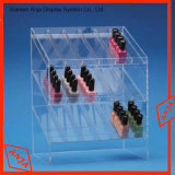 Présentoir acrylique de rouge à lievres de crémaillère d'étalage de rouge à lievres