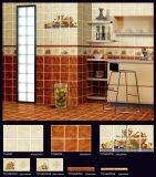 Baldosas cerámicas de la pared del material de construcción con diversos modelos