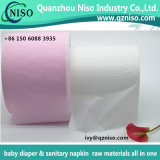 Enveloppant le film d'emballage pour les matières premières de serviette hygiénique (LS-T05)
