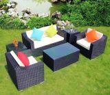 6 напольной частей мебели ротанга софы патио мебели