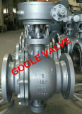 API 6D de aço fundido da válvula de esfera de montagem do munhão flangeado (GAQ347F)