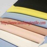 Tessuto tinto del poliestere della fibra chimica dello Spandex per il cappotto di vestito dalla donna