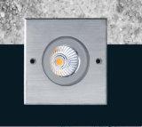 IP68 haute luminance Inground éclairage LED de sortie