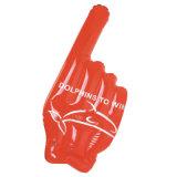 Sport- zujubelnde Hand-Belüftung-oder TPU aufblasbare Hand mit 1 Finger