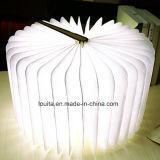 Hölzernes Anzeigen-Buch-Licht des Deckel-LED für kampierende Beleuchtung