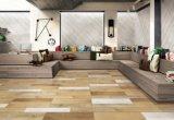 Tuile de porcelaine glacée par bois de bois de construction pour le mur et l'étage (LF03)