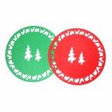 3mm & 5mm voelden Placemat voor het Tafelblad van Kerstmis
