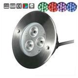 18W 무선 LED 연못 수중 색깔 빛