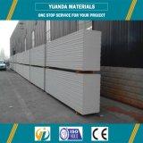 Los elementos prefabricados de ligero AAC / Alc de acero de doble panel Panel de pared exterior de la red